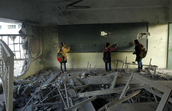 Gaza se reconstruye