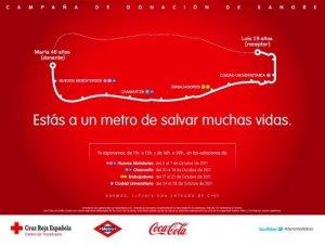 Campaña de Coca-Cola para el Canal Metro