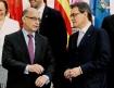 Cristóbal Montoro y Artur Mas en la pasada cumbre autonómica
