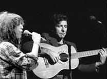 Patti Smith & Leonard Cohen