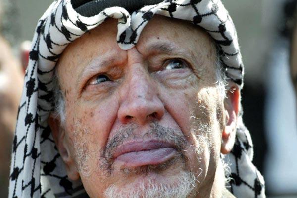 Yasir Arafat, líder palestino muerto en 2004.