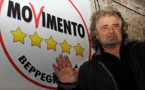 Beppe Grillo, cómico reconvertido en la esperanza de las listas ciudadanas.
