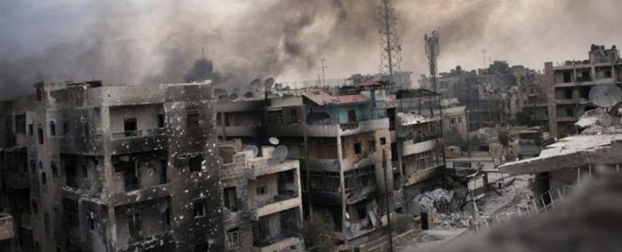 La guerra civil en Siria que asola el país desde 2011