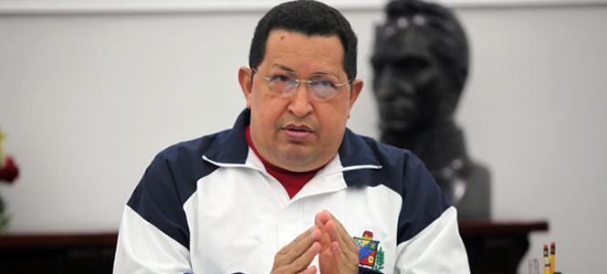 El presidente de Venezuela antes de ser intervenido