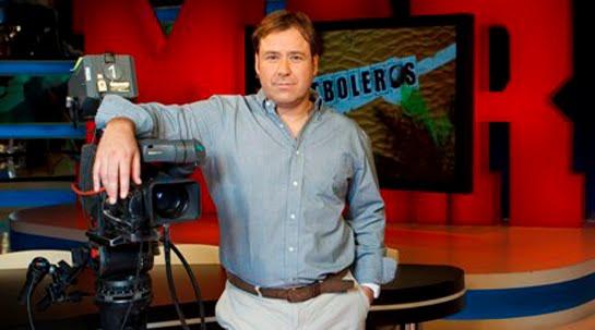 """Enrique Marqués, presentador de """"Futboleros"""" en Marca TV"""