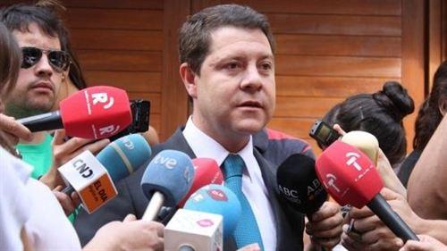 El alcalde de Toledo y senador por Castilla-La Mancha, Emiliano García-Page. Fotografía: PSOE/ EP