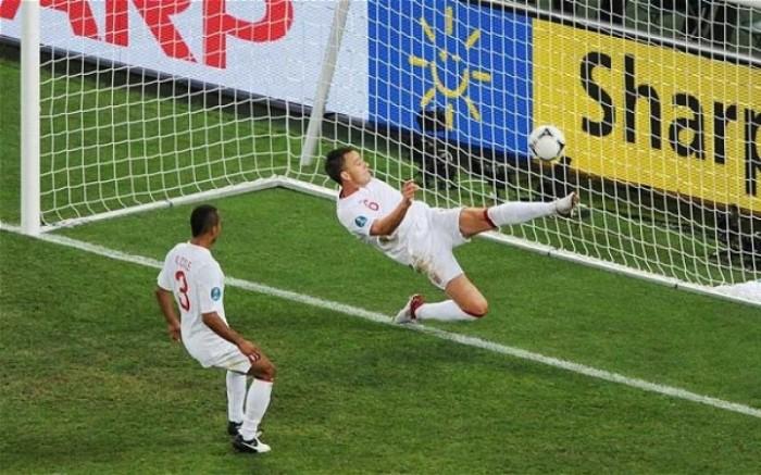 Gol Fantasma entre Ucrania vs. Inglaterra