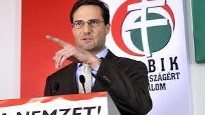 Márton Gyongyósi, vicejefe del grupo parlamentario de Jobbik.