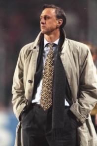 Johan Cruyff treinador do Barcelona b