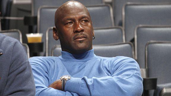 Jordan como directivo de los Charlotte Bobcats