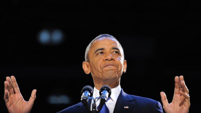 Obama fue reelegido presidente de los Estados Unidos en noviembre