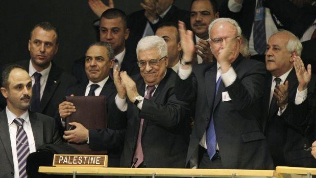 La ONU acepta a Palestina como Estado observador con amplia mayoría