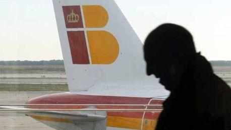 Cola de avión de Iberia