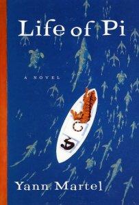 """El libro """"Life of Pi"""" de Yann Martel"""