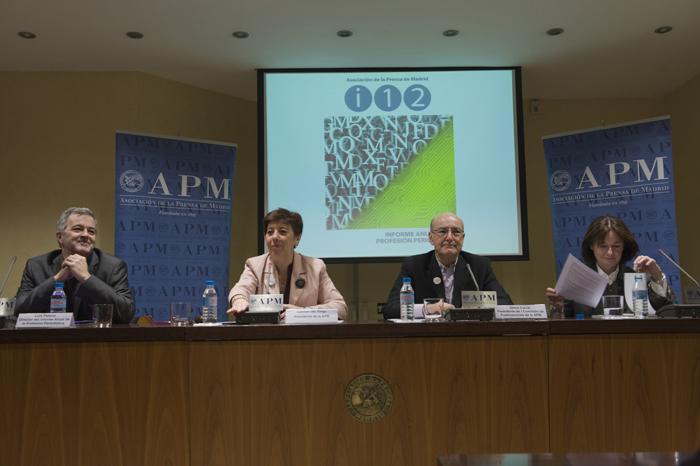 Luis Palacio, Carmen del Riego, David Corral y Marisa Ciriza/ Fuente: APM