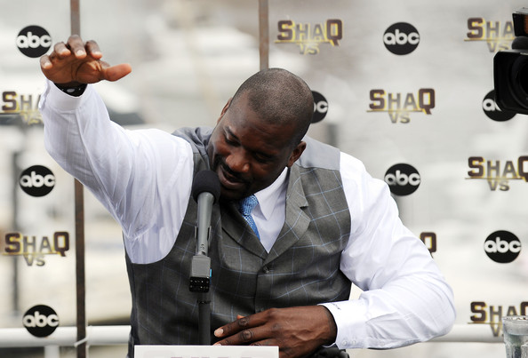 Shaquille+O+Neal+Michael+Phelps+Press+Conference+gkSMHpnPJSNl
