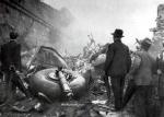 Imagen de la catástrofe aérea.