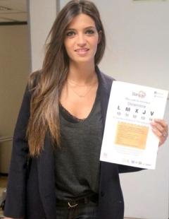 Sara Carbonero apoyando la iniciativa Bankilo