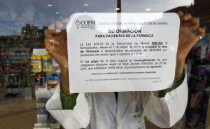 Se implanta el euro por receta en Madrid