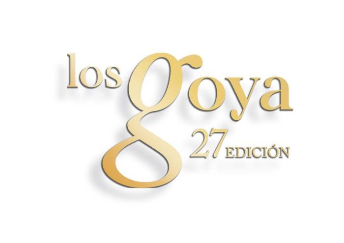 Cartel de los Premios Goya 2013