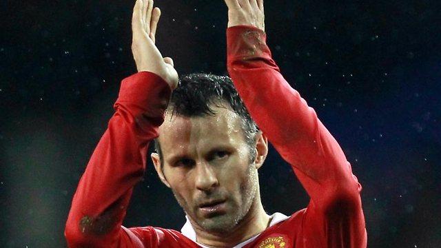 Ryan Giggs con la camiseta del Manchester United