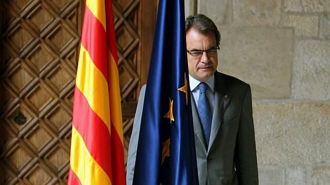 El presidente de la Generalitat de Catalunya, Artur Mas / Fuente: EFE