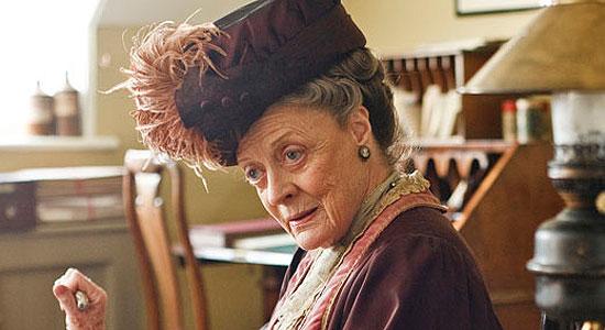 Maggie Smith en Dowton Abbey