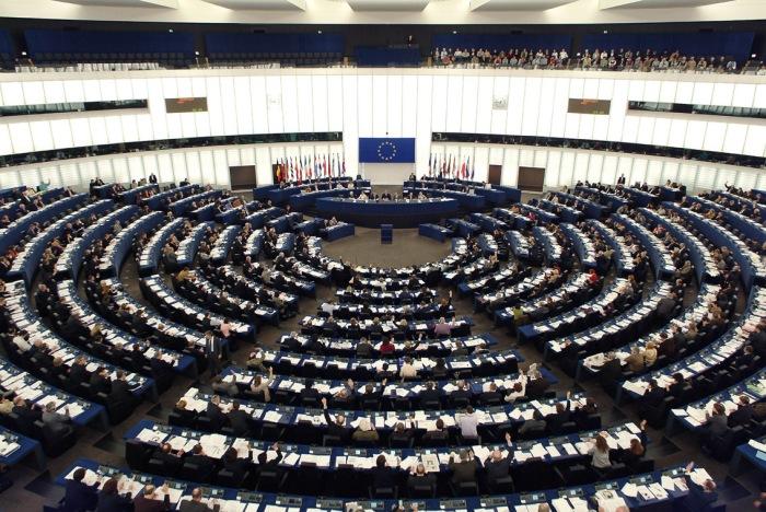 Imagen de la sesión plenaria del Parlamento Europeo