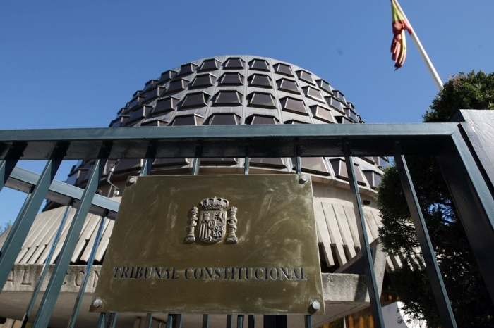 Imagen de la fachada del Tribunal Constitucional