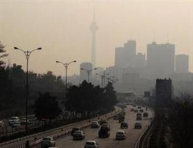 Polución en Teherán