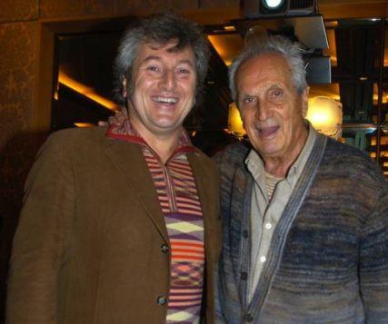 Vittorio y Ottavio Missoni