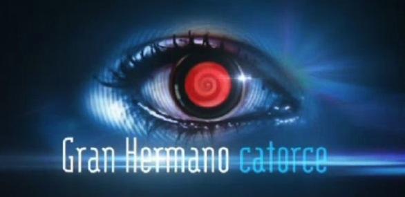 """Logo de """"Gran Hermano catorce"""""""
