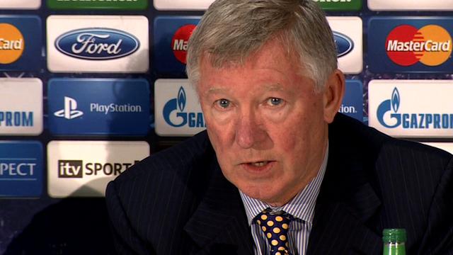 Alex Ferguson en rueda de prensa | FOTO: BBC Sports