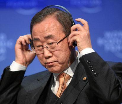 Secretario General de Naciones Unidas, Ban-Ki Moon