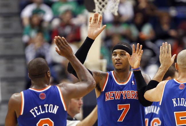 Carmelo Anthony, con grandes aspiraciones para esta temporada || Foto: Bleach Report