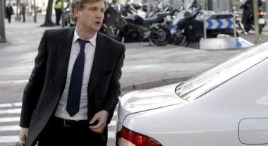 Olaf Schumacher entrando en los juzgados de lo Penal de Madrid