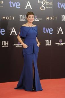 Eva Hache, presentadora de los premios