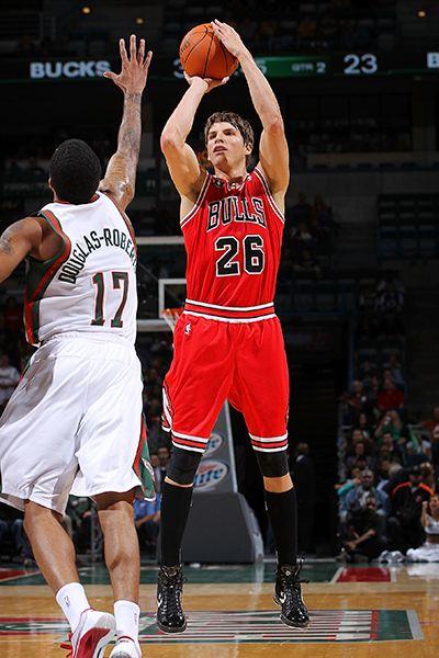 Kyle Korver ha dado un gran rendimiento a los Chicago Bulls.