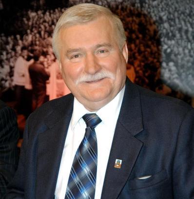 El expresidente y ganador del Premio Nobel de la paz, Lech Walesa