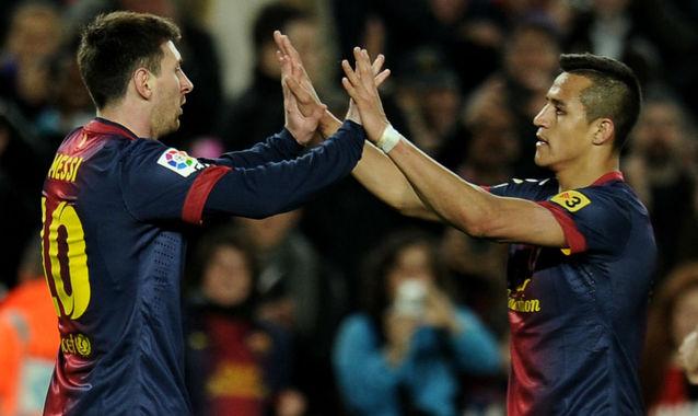 Alexis y Messi celebrando un gol | FOTO: Agencia EFE