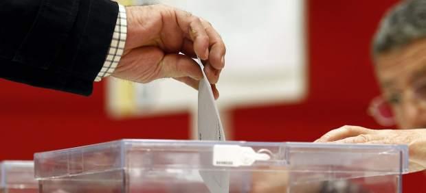Voto en las urnas