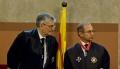 Toma de posesión del Fiscal en Jefe de Catalunya, en julio del 2012.