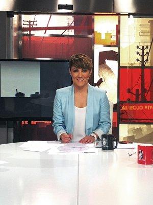 Cristina Pardo presentó Al Rojo Vivo durante Semana Santa en sustitución a Antonio García Ferreras
