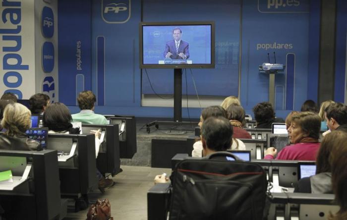Comparecencia de ayer de Rajoy