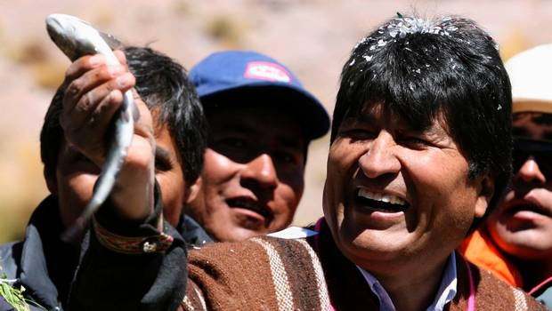 Bolivia reclama una salida al mar // http://www.24horas.cl/