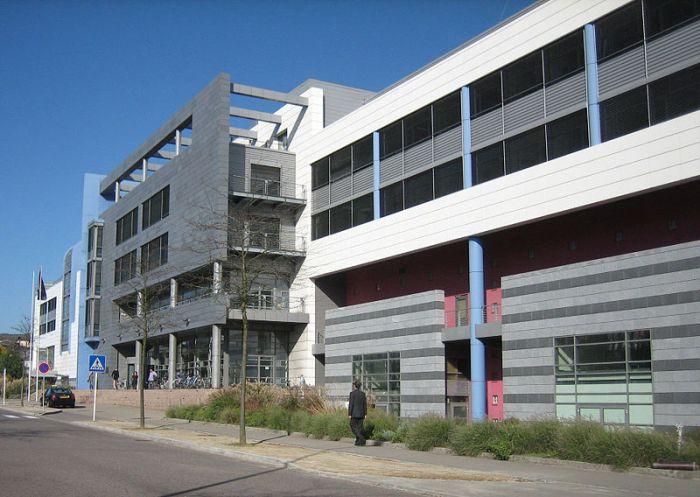 Edificio del Eurostat, en Luxemburgo.