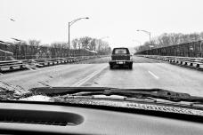 Siguiendo al coche fúnebre