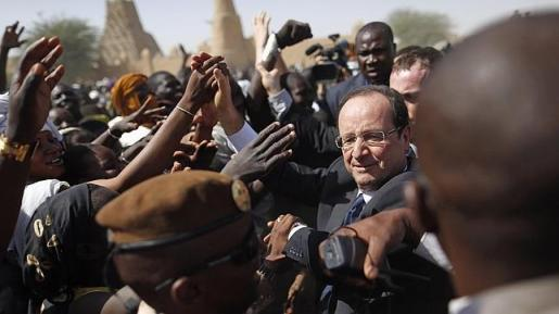 El presidente Hollande en Mali//Abc.es
