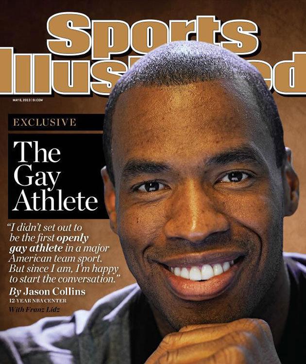 Jason Collins es el primer jugador en activo que reconoce ser gay.