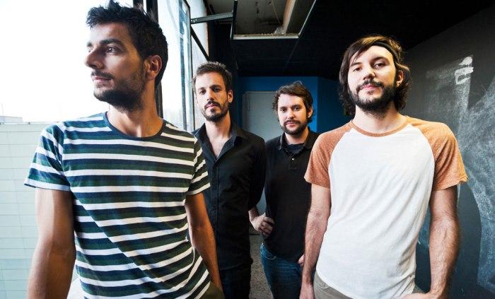 Álex, Esteban, Víctor y Alberto, componentes de Toundra